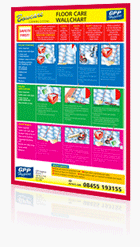 Bowcare Floor Care Wallchart