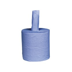 Bowcare 1 Ply Blue Centrefeed Roll