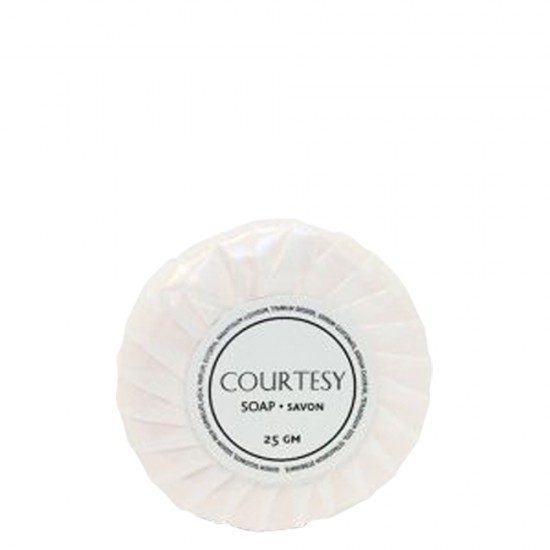 Courtesy 25g Tissue Pleat Wrapped Soap