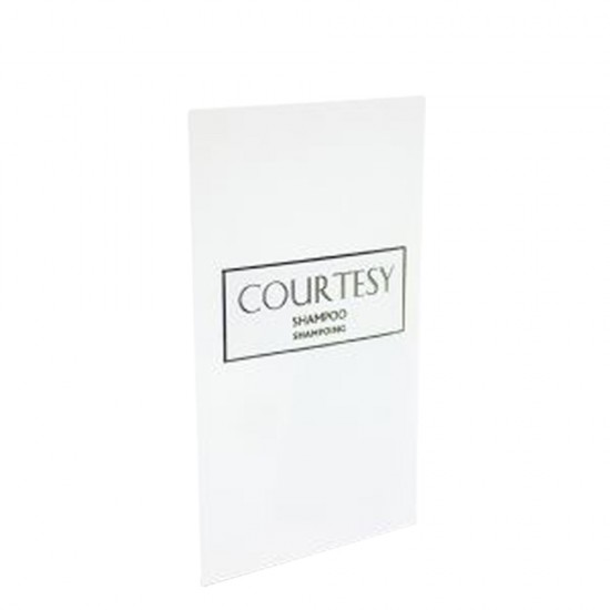 Courtesy 10ml Shampoo Sachets