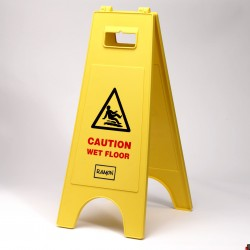Bowcare Caution Wet Floor Sign