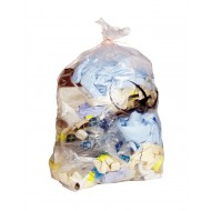 Heavy Duty 15kg Clear Refuse Sack
