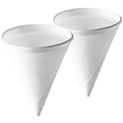 4oz Compostable Water Cones