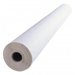 White Paper Damask Banquet Roll 100cm