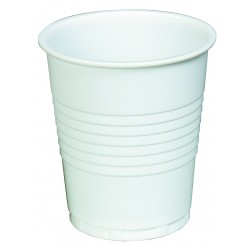 7oz Tall Cups White Plastic