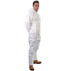 Premium Hooded Coverall Type 5 & 6 Medium