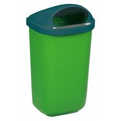 50 Ltr High Capacity Litter Bin Wall Mounted