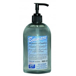 Bowcare Alcohol Instant Hand Sanitiser Gel - 12x500ml