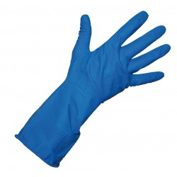 General Purpose Rubber Gloves Medium Blue