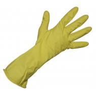 General Purpose Rubber Gloves Large Yellow