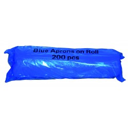 Bowcare Poly Aprons on a Roll Blue
