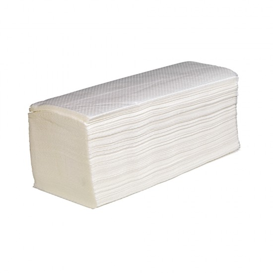 Bowcare Interfold 2ply White Hand Towel 23x23 cm