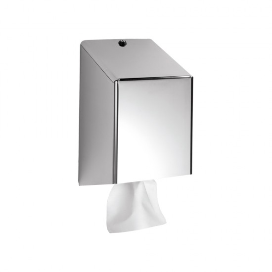 Polished Stainless Steel Centrefeed Dispenser