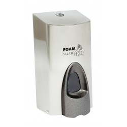 Bowcare Foaming Soap Stainless Steel Dispenser