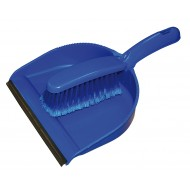 Blue Dust Pan & Brush Set