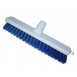 16'' Hygiene Broomhead Blue