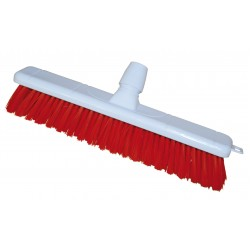 16'' Hygiene Broomhead Red