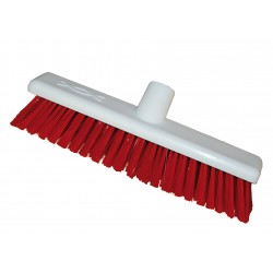 12'' Hygiene Broomhead Soft Red