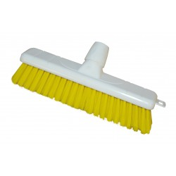 12'' Hygiene Broomhead Soft Yellow