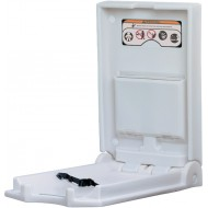 877x496 Vertical baby changing unit