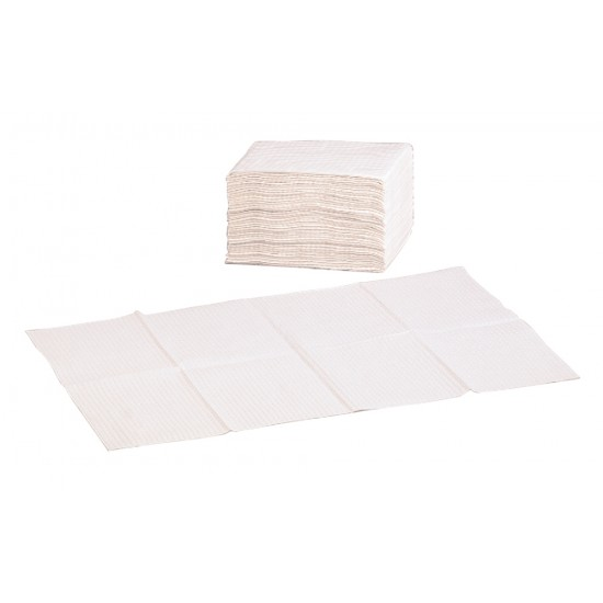 Paper liners for baby changing unit