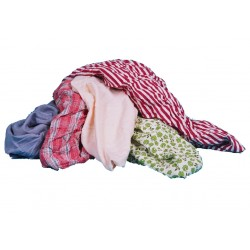 Mixed Coloured Rags - Bagged