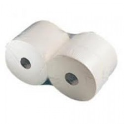 Bowcare Industrial Roll 2ply White 1000 Sheet