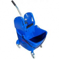 Compact Single Bucket System With Wringer Blue