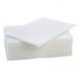 Bowcare White Soft Scouring Pads