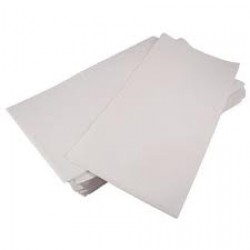 White Paper Embossed Tablecovers 90cm