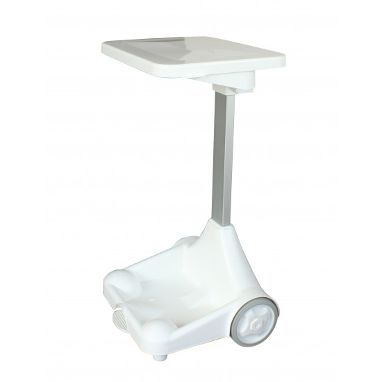 Portable Wheeled Pedal Operated Sack Holder