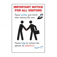 A3 Covid-19 Important Notice For All Visitors