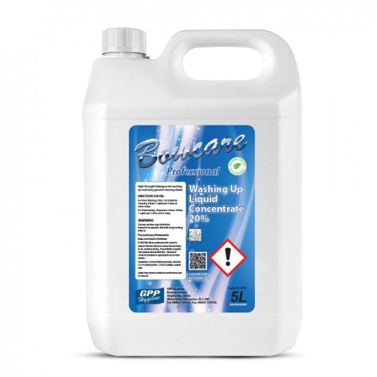 Bowcare Washing Up Liquid Concentrate 20%
