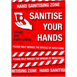 A2 Covid-19 Sanitise Your Hands