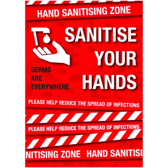 A1 Covid-19 Sanitise Your Hands
