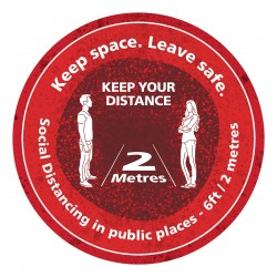 Keep space - Leave Safe - Keep your distance