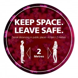 Keep space - leave safe