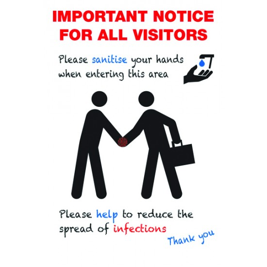 A1 Covid-19 Important Notice For All Visitors