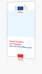 EU Chemical Label Leaflet